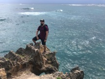 the Husband at Kawelikoa Bay